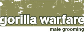 male waxing and grooming by gorilla warfare